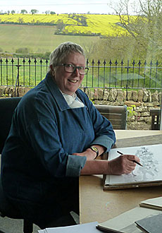 Profile picture of Mary Rodgers in her studio