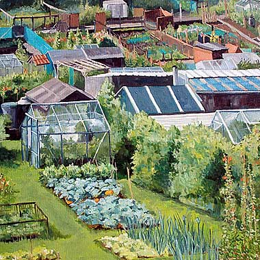 Allotment, North Yorkshire