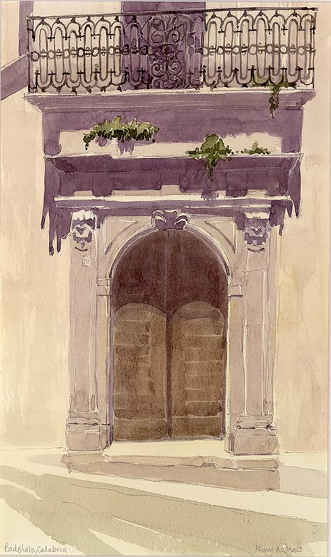 Old Doorway - Badolato, Calabria
